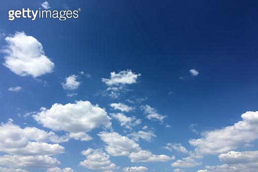 clouds sky, blue background. cloud blue sky and sun.