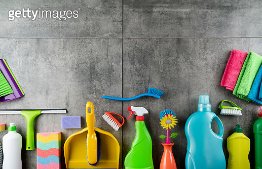 House cleaning concept.