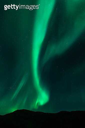 Majestic northern lights