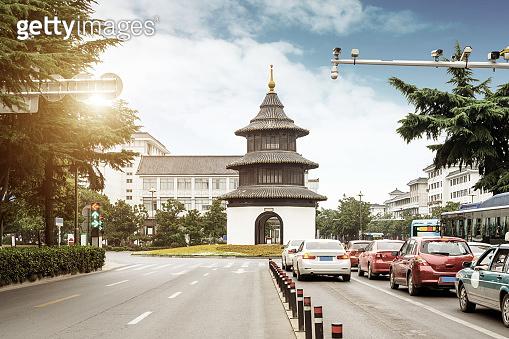 Classical architecture in Yangzhou, China