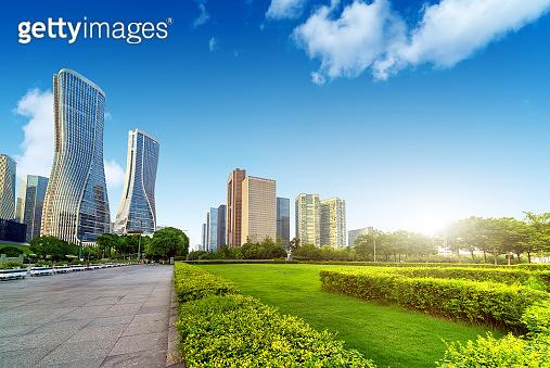 Hangzhou Cityscape, China