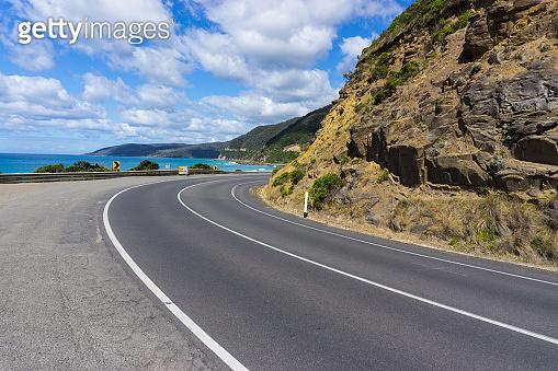 Melbourne's famous tourist destination Great Ocean Road