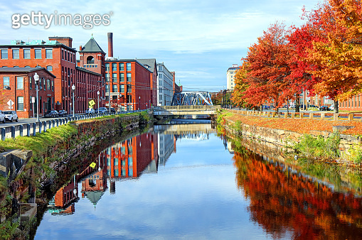 Autumn in Lawrence, Massachusetts