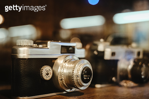 Vintage and old film camera