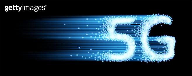 5G internet speed. Vector illustration.