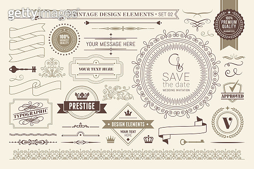 Calligraphic stock illustration