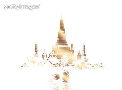 Illustration Thai temple