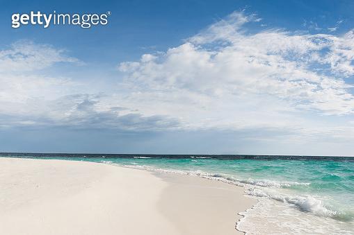 Tropical White Sand Beach -  Stock photo