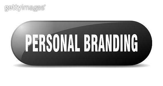 personal branding button. personal branding sign. key. push button.