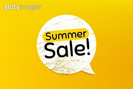 Summer Sale. Special offer price sign. Vector