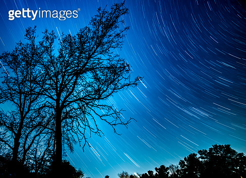 Long Shutter Night sky