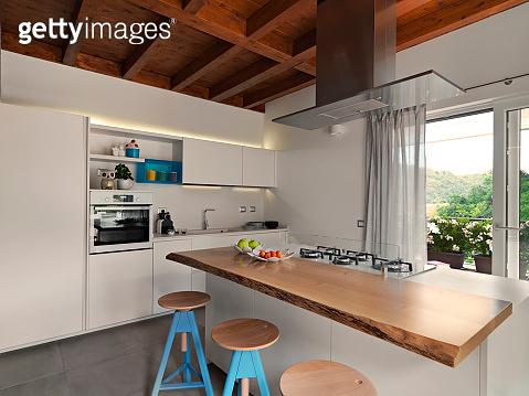 interior shots of a modern kitchen