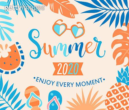 Summer 2020 welcome banner.