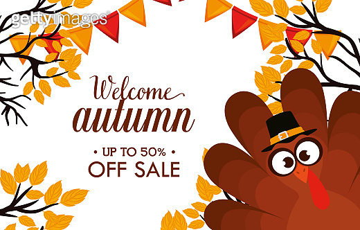 welcome autumn day sale