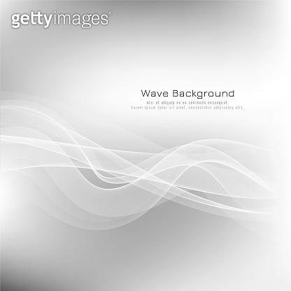 Abstract wave grey modern background vector design illustration