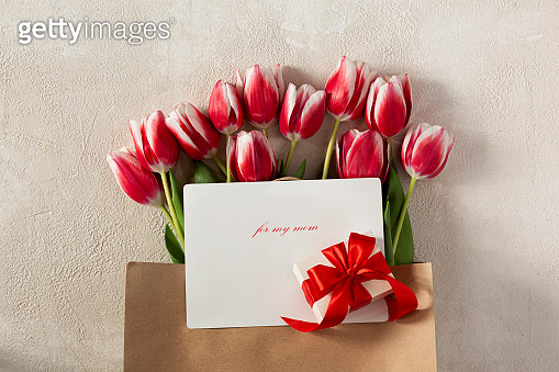 Mother's day, happy, spring flowers, tulips bouquet, beautiful romantic, happy motherstulip flowers, red tulips