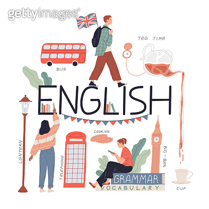 Studying English language and culture, travel to England