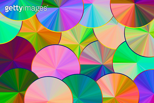 Beautiful colorful stripes abstract background, stretched pixels effect. Decorative fantasy ornaments