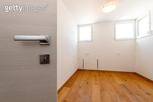 New empty house, room