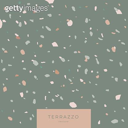 Texture Terrazzo in grey colors.