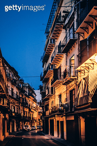 Old town by night - Palermo, Sicily