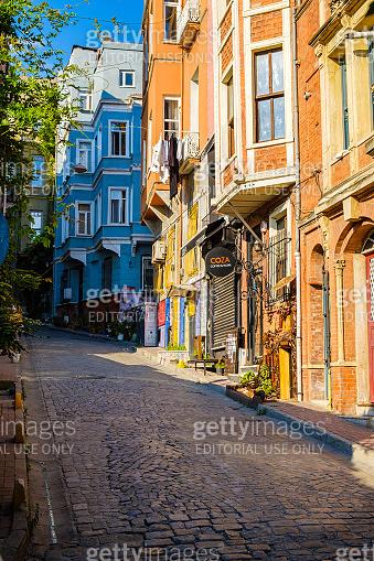 Istanbul, Turkey. July 21, 2019. Fatih historic district