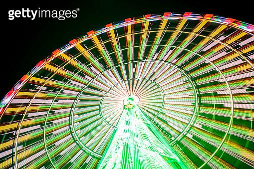 Steel Ferris wheel