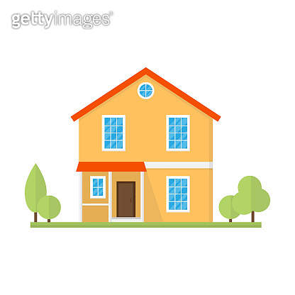 House building or home flat style.