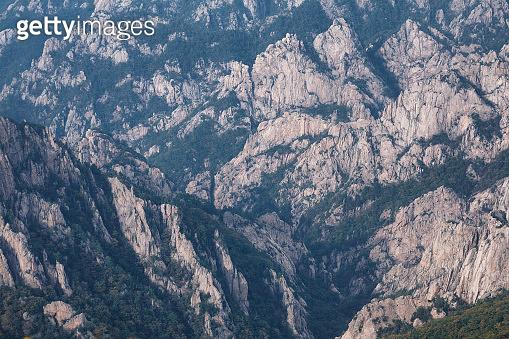 Crags of Seorak Mountain, South Korea