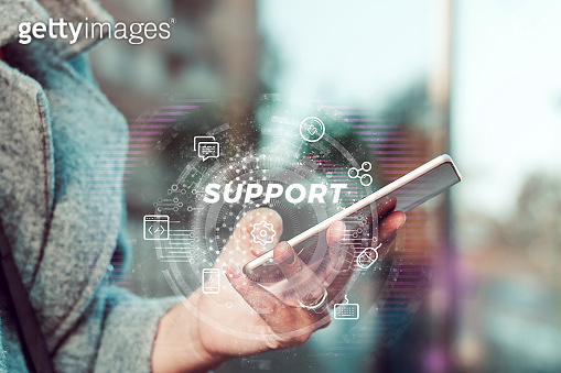 Online support.