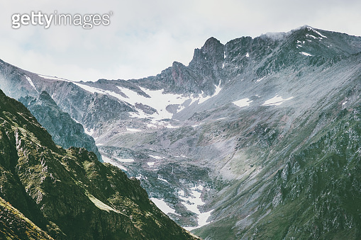 Rocky Mountains range peaks Landscape Summer Travel wild nature scenic view