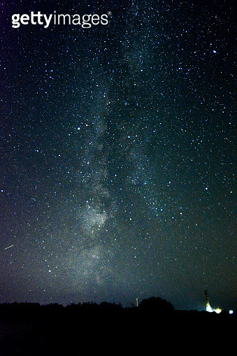 Milky Way at Ventnor Radar Station - Isle of Wight