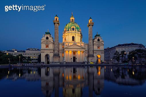St. Charles's Church in Vienna, Austria