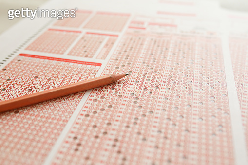 pencil and eraser multiple choice test