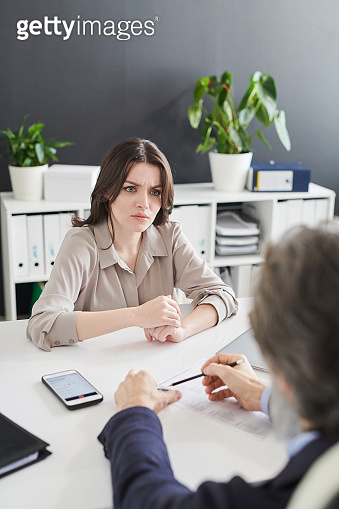HR Asking Weird Questions To Woman