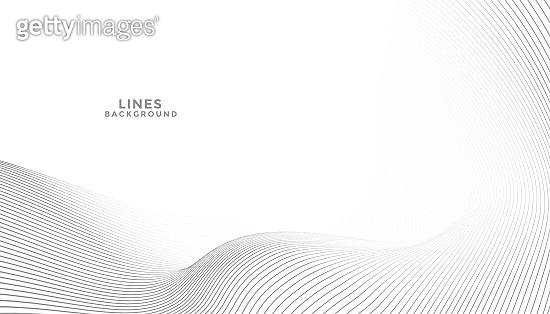 abstract elegant background with flowing lines wave