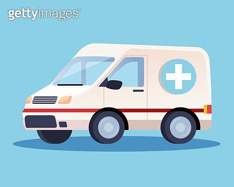 ambulance emergency car transport icon