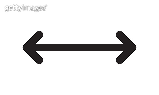 arrow distant icon