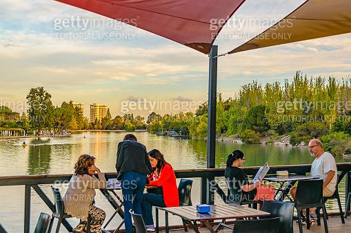 Waterfront Bar San Martin Park, Mendoza, Argentina