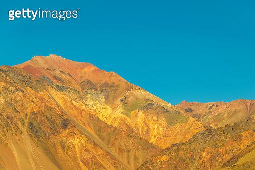 Andes Landscape Scene, Mendoza, Argentina