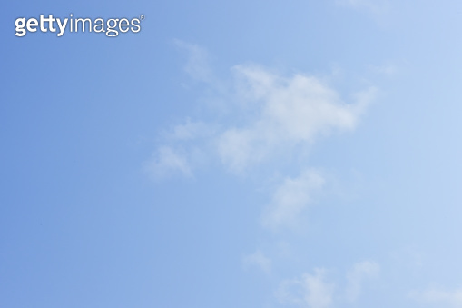 Blue sky white clouds for background