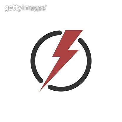 Energy or Power Icon Logo Template Illustration Design. Vector EPS 10.
