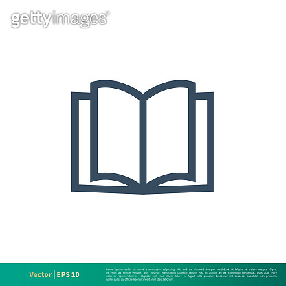Book - Education Icon Vector Logo Template Illustration Design. Vector EPS 10.