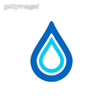 Droplet Logo Template. Drop Water Icon. Illustration Design. Vector EPS 10.