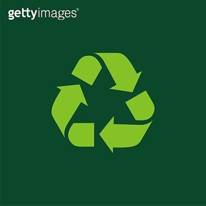 Recycle Icon Vector Logo Template Illustration Design. Vector EPS 10.