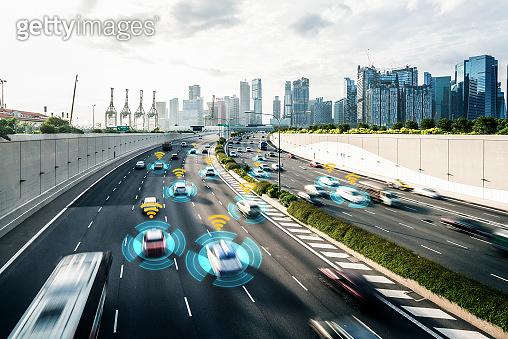 Autonomous car sensor system concept for safety of driverless mode car control