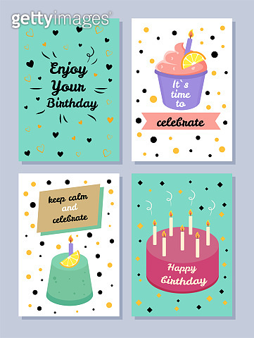 Happy Birthday, Keep Calm and Celebrate Poster