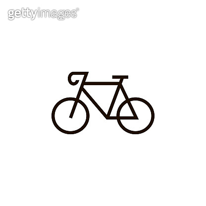 Bike vector illustration, bicycle isolated icon. Vector