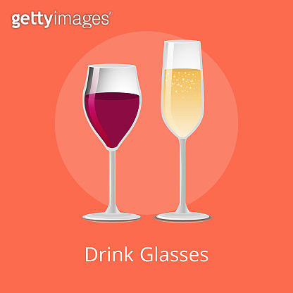 Drink Glasses Elite Glassware Expensive Red Wine