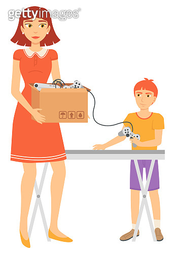 Second Sale of Table and Joystick, Sell Vector